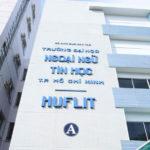 HUFLIT – Đại học Ngoại ngữ Tin học TP.HCM -Tuyển Sinh 2020