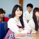Việc làm tiếng Hàn lương cao 15 đến 30 triệu