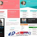 Top CV Xin việc làm Hay nhất, Tạo CV không cần đăng nhập