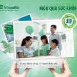 Manulife Món quà sức khỏe – Bảo hiểm chăm sóc sức khỏe của mọi gia đình