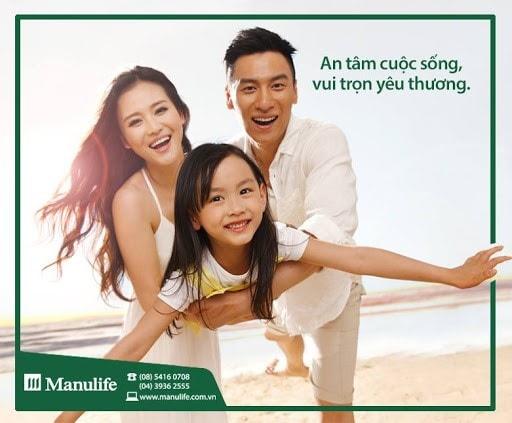 Tìm hiểu gói bảo hiểm Manulife Gia đình tôi yêu
