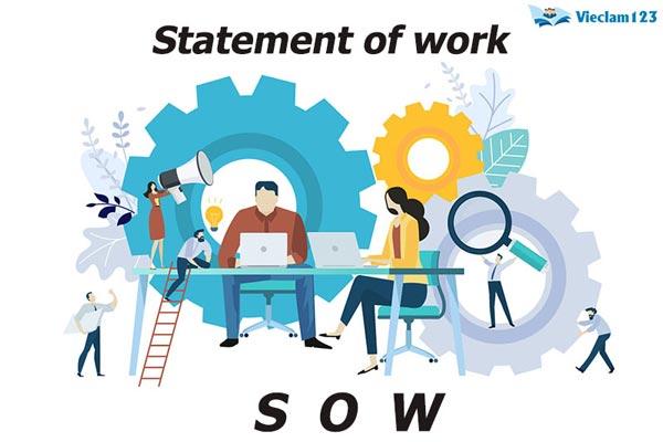 Các bước để viết một công việc (Sow) cho dự án