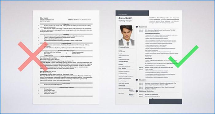 Thừa thông tin khi viết CV xin việc